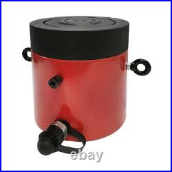 100 Ton 6 Stroke Hydraulic Cylinder Lifting Jack Ram 11 Closed Height Lock Nut
