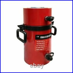 100 Ton Hydraulic Cylinder Ram 300mm Stroke 19.35 In Closed Height DOUBLE ACTING