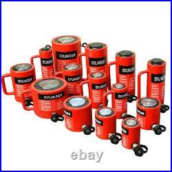 100 Ton Hydraulic Lifting Cylinder 5.90 (150mm) Stroke Jack Ram Pressure Pump