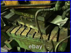100 Ton L & J Obi Press 8 Stroke 19.25 Shut Height 4 Ram Adjustment 40 Spm 42