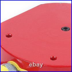 100 Ton Multi Stage Hydraulic Cylinder Flat Jack Ram 16mm Stroke 200CC US