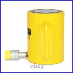 100mm Stroke Single Acting Hollow Ram Hydraulic Cylinder Jack 50 Tons Capacity