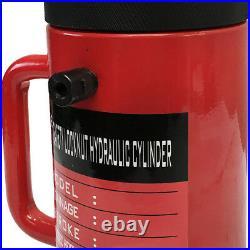 10 Ton Cap. Hydraulic Cylinder Ram 150mm Stroke Jack Ram Lifting With Lock Nut