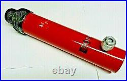 10 Ton Hydraulic Ram- 6 stroke Blackhawk style- Threaded on both ends