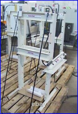 10 Ton Ram-Pac H-Frame Hydraulic Shop Press Bearing Press Made in USA 10 Stroke