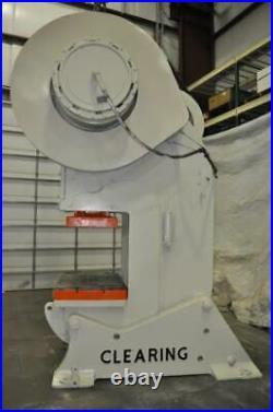 150 Ton Clearing Obi Press 10 Stroke 4 Ram Adjustment 24-1/2 Shut Height 40 S
