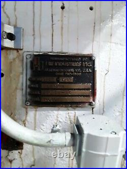 150 Ton Johnson OBI Press Stroke 6 inches Ram Adjustment 5 Shut Height 22