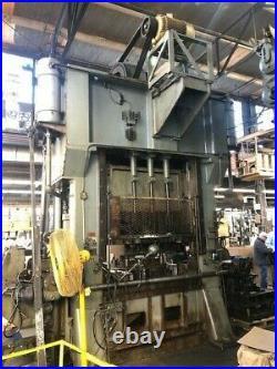 150 Ton Minster Ssdc Press 6 Stroke 8 Ram Adjustment 28.50 Shut Height 22-66 S