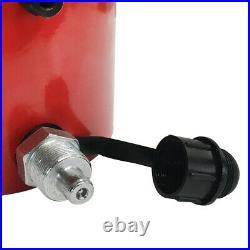 200Ton Hydraulic Cylinder 100mm Stroke Jack Ram 9.25 Inch Closed Height Lock Nut