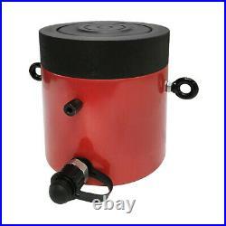 200 Ton 4 Stroke Hydraulic Cylinder Jack Ram 9.25 Closed Height WithLock Nut