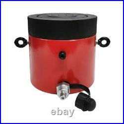 200 Ton Hydraulic Cylinder 50mm Stroke Jack Ram 7.25 inch Closed Height Lock Nut