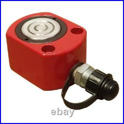 20 Ton 12mm 0.47 Stroke Hydraulic Cylinder Low Profile Flat Jack Ram