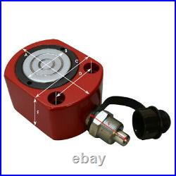 20 Ton LOW HEIGHT Profile Hydraulic Cylinder Jack Ram Lifting 12mm Stroke
