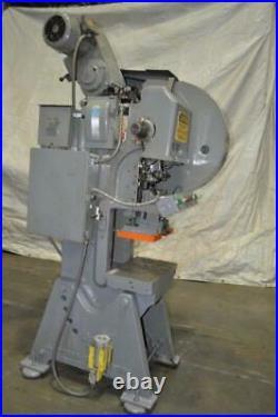 27 Ton L & J Obi Press 1 Stroke 2 Ram Adjustment 10.5 Shut Height 150 Spm Est
