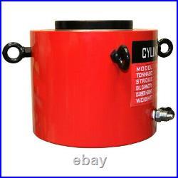 300 Ton Hydraulic Cylinder 3.93 (100mm) Stroke Jack Ram 320mm Closed Height