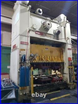300 Ton Niagara Ssdc Press 24 Stroke 48 Shut Height 16 Powered Ram Adjustment