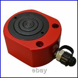30Ton 53mm 2.03 Stroke Multi Stage Hydraulic Cylinder Flat Jack Low Profile Ram