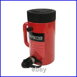 30 Ton 6 Stroke Hydraulic Cylinder Lifting Jack Ram 10 Closed Height Lock Nut
