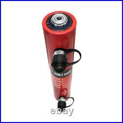 30 Ton 8 Stroke Double Acting Hydraulic Cylinder Lifting Jack Ram 15.25H