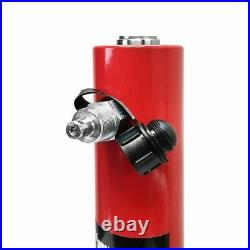 30 Ton Hydraulic Cylinder Ram 200mm Stroke 15.25 in Closed Height DOUBLE ACTING