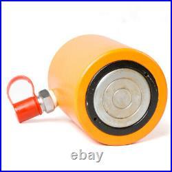 30 Ton Low Height Hydraulic Cylinder Flat Jack Low Profile Ram 60mm Stroke