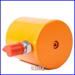 30 tons 2 45mm stroke Single Acting Hydraulic Cylinder 0 63Mpa Hollow Ram