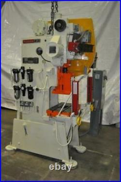 35 Ton Niagara Flywheel Style Obi Press 3 Stroke 10.5 Shut Height 2.25 Ram Ad
