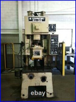35 Ton Stamtec Gap Frame Press 2.765 Stroke 8.661 Shut Height 2.165 Ram Adjus