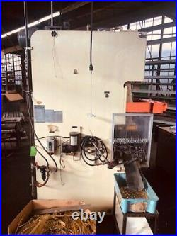 38 Ton Stamtec Gap Frame Press 4.33 Stroke 2.17 Ram Adjustment 9.26 Shut Heig