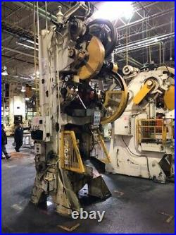 400 Ton Bliss Knuckle Joint Press 10 Stroke 1/2 Ram Adjustment 19 Shut Height