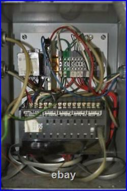 45 TON V & O OBI PRESS 3 STROKE 9-3/4 SHUT HEIGHT 2.5 RAM ADJUSTMENT 35.5 x