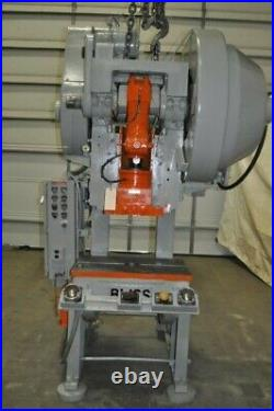 45 Ton Bliss Back Geared Style Obi Press 5 Stroke 10 Shut Height 3 Ram Adjust