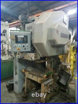 45 Ton Precision Gap Frame Press 3 Stroke 11 Shut Height 2.5 Ram Adjustment 6