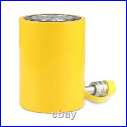 4 100mm 50 tons stroke Single Acting Hydraulic Cylinder 10000PSI Jack Ram