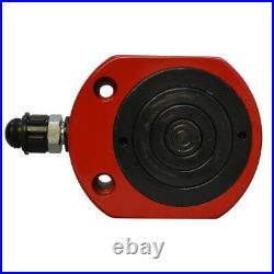 50Ton 64mm 2.52 Stroke Multi Stage Hydraulic Cylinder Flat Jack Low Profile Ram