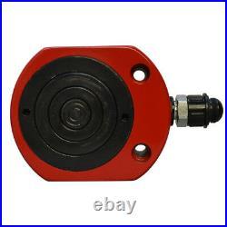 50Ton MULTI STAGE Profile Hydraulic Cylinder Jack Ram Lifting (64mm) 2.51Stroke