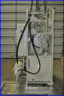 50 TON DENISON HYDRAULIC PRESS 12 STROKE 24 DAYLIGHT 15 x 24 RAM