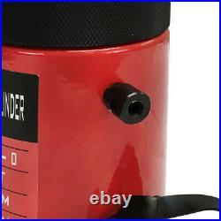 50 Ton 2 Stroke Hydraulic Cylinder Lifting Jack Ram 6 Closed Height Lock Nut
