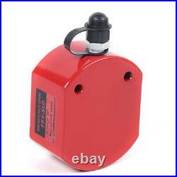 50 Ton 64mm Hydraulic Cylinder Flat Jack Low Profile Ram Lifting 2.52 Stroke