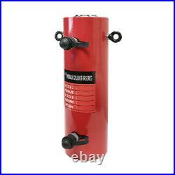 50 Ton 8 Stroke Double Acting Hydraulic Cylinder Lifting Jack Ram 15.35H