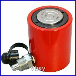 50 Ton Hydraulic Cylinder 2 (50mm) Stroke Jack Ram 115mm Closed Height