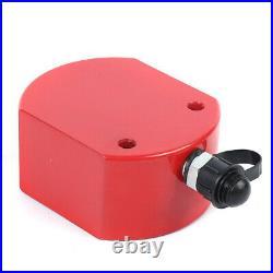 50 Ton Hydraulic Cylinder Jack 2.52 Stroke Ram Low Profile Flat Lift Cylinder