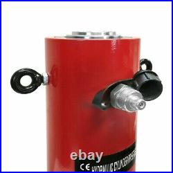 50 Ton Hydraulic Cylinder Ram 200mm Stroke 15.35 in Closed Height DOUBLE ACTING