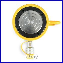 50 Tons 4 100mm Stroke Single Acting Hydraulic Cylinder 10000PSI Jack Ram