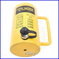 50 tons 6 stroke Single Acting Hydraulic Cylinder 953cc Jack Ram Heavy Duty