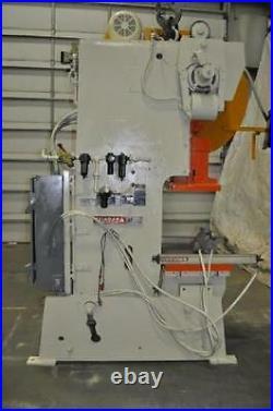 60 TON NIAGARA OBI STAMPING PRESS M-60 SERIAL # 46073 6 STROKE 21 x 16 RAM