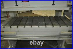 60 Ton Bliss Double Crank Gap Press 5 Stroke 13 Shut Height 2.5 Ram Adjustmen