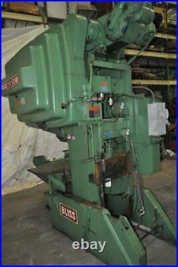 60 Ton Bliss OBI Press Stroke 4 inches Ram Adjustment 3 Shut Height 14.25