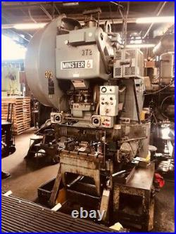 60 Ton Minster Obi Press 3 Stroke 2.75 Ram Adjustment (manual) 16.5 Shut Hei