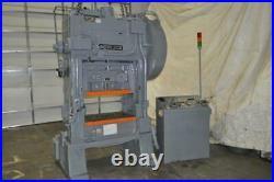 60 Ton Minster P2 60 Ssdc Press 3 Stroke 3 Ram Adjustment 13.5 Shut Height
